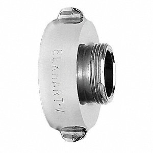 Fire Hose Rocker Lug Adapter, Nonswivel Adapters Fittings Sub-Category, FNST x MNST Connection Type,