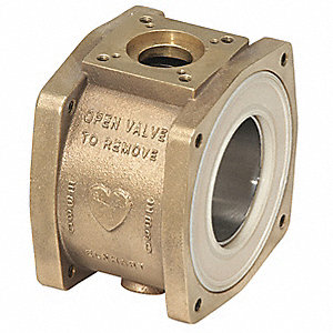 Unibody Apparatus Valve Body,1-1/2 In
