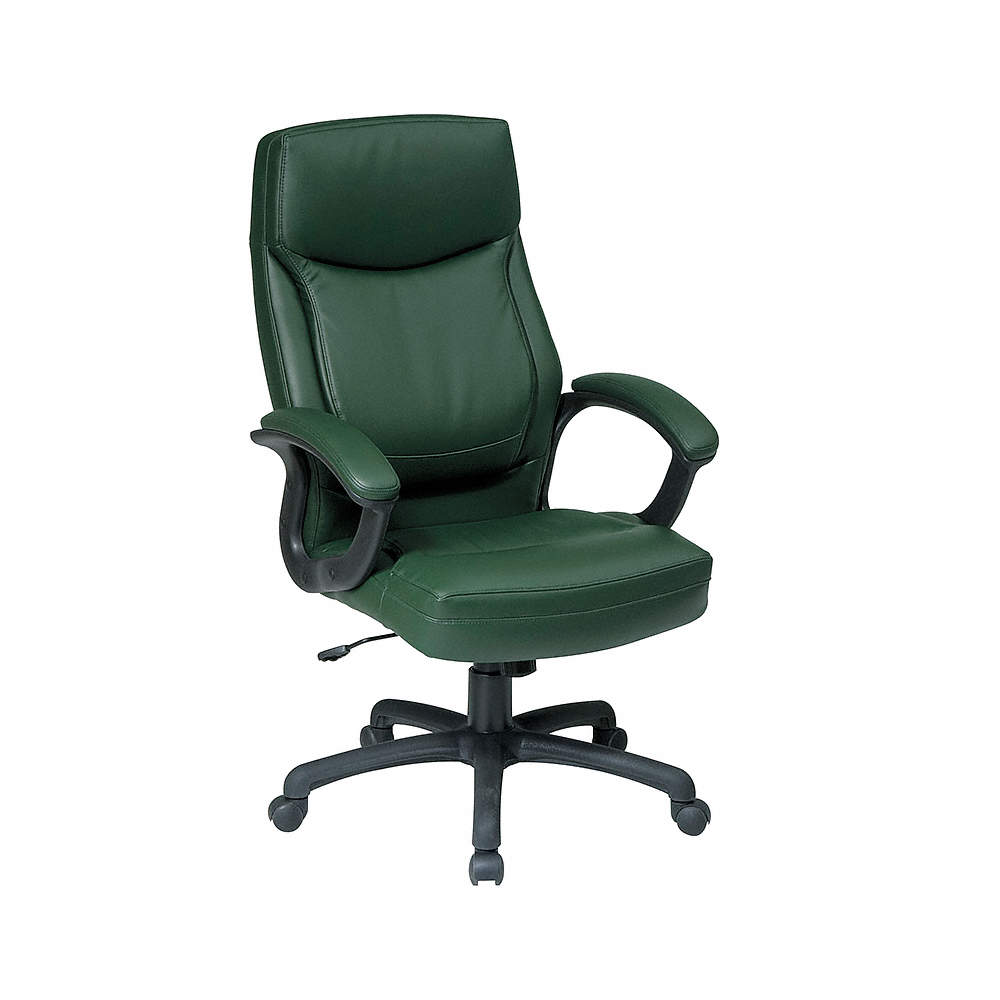Green Eco Leather Executive Chair