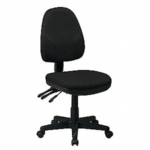 Ergonomic Office Chair,Fabric,Black
