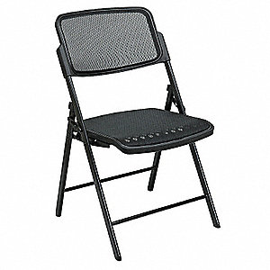 Folding Chair,Black,PK2