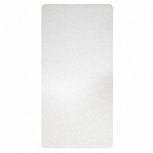 Wall Guard,White,Antimicrobl Plastic,PK2