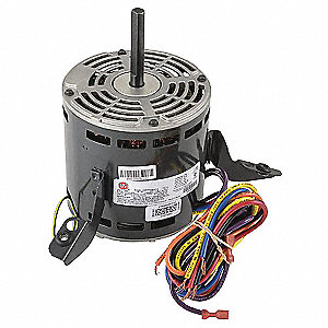 Motor, 1.2 HP, 1-Phase, 460V, 1075 rpm