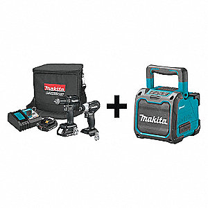 18V LXT Cordless Combination Kit, 18.0 Voltage, Number of Tools 2