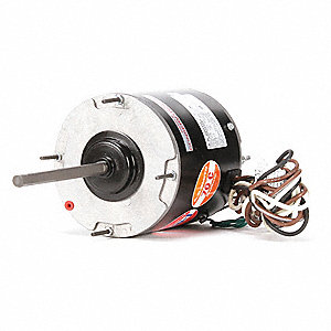 1/2 to 1/5 HP Direct Drive Blower Motor, Permanent Split Capacitor, 1075 Nameplate RPM, 460 Voltage