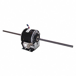 1/15 HP Room Air Conditioner Motor,Permanent Split Capacitor,1100 Nameplate RPM,115 Voltage,Frame 42
