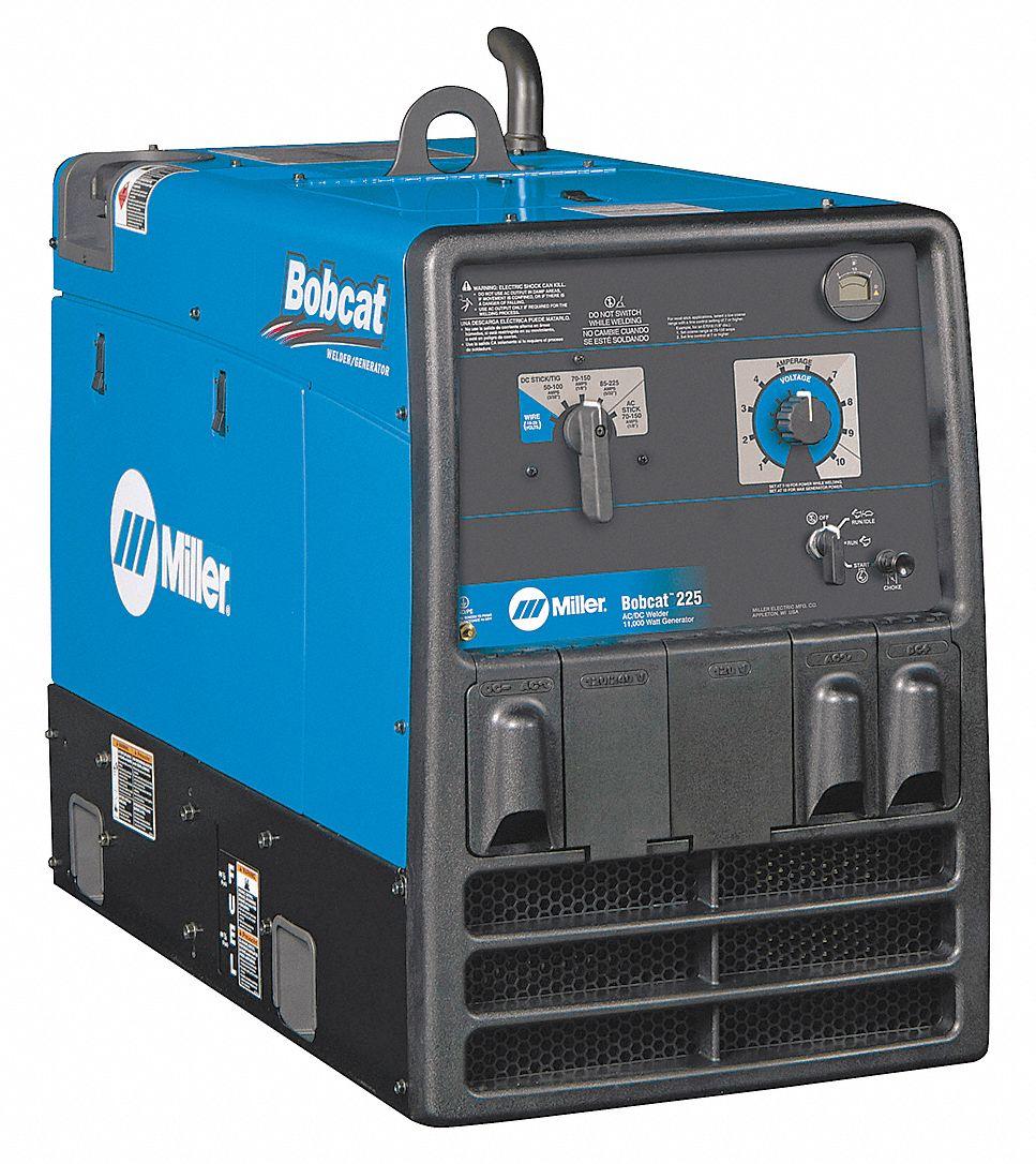 Miller Electric Engine Driven Welder Bobcat 225 Series 11000w Starter Wiring Diagram Kohler Gas 16a173 907498001 Grainger