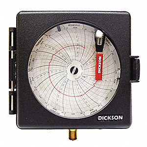 Chart Recorder,0 to 100 PSI