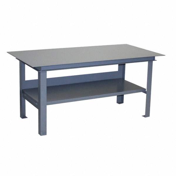 Jamco fixed height work table steel 36 depth 34 for Table th fixed width