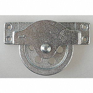 Pulley Block,OD 3-1/4 In.,ID 2-17/32 In.