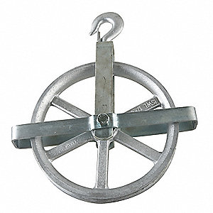 Well Wheel Pulley Block,Fibrous Rope