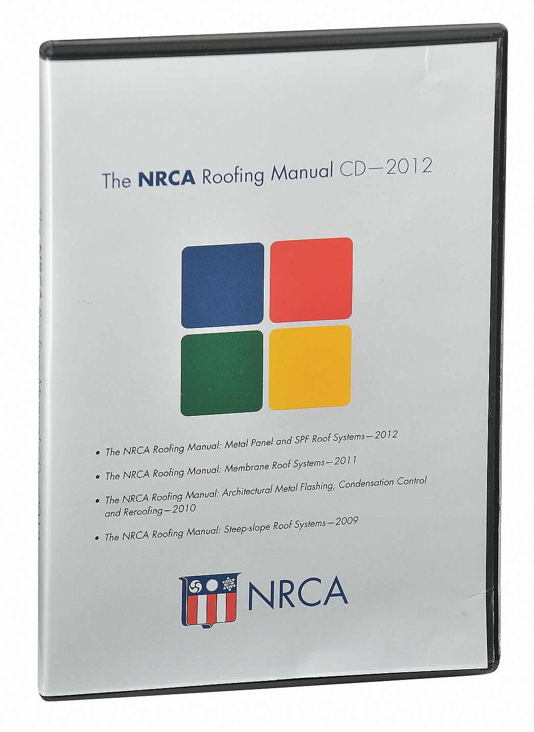 Reference Book,  Residential Construction,  The NRCA Roofing Manual,  CD- Digital Document