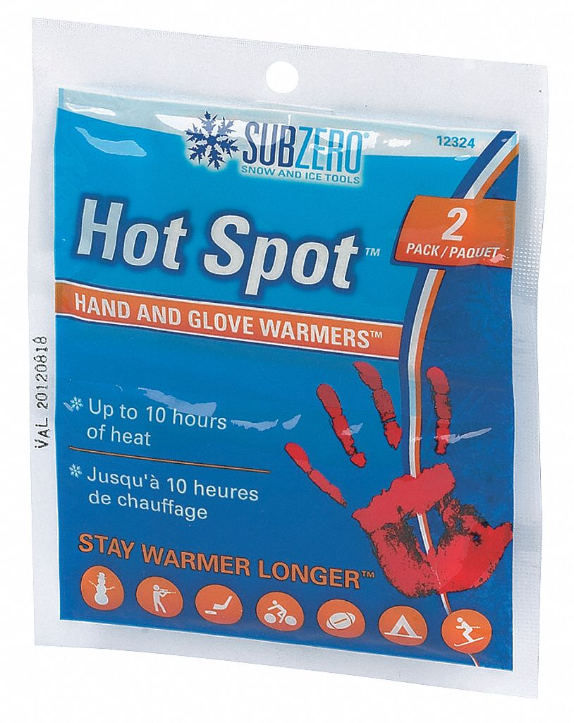 Hand Warmers, Up to 10 hr Heating Time, Activates By Shake/Oxygen