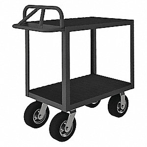 Instrument Cart,1200 lb.,38 In. H