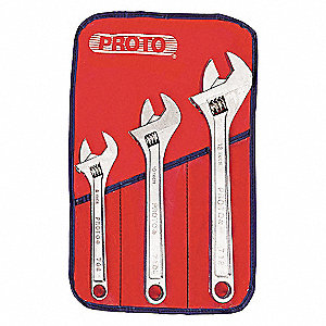 WRENCH ADJUSTABLE SET