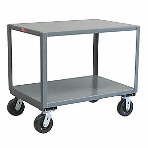 "Fixed Height Work Table, 36"" Depth, 31"" Height, 48"" Width,2400 lb. Load Capacity"
