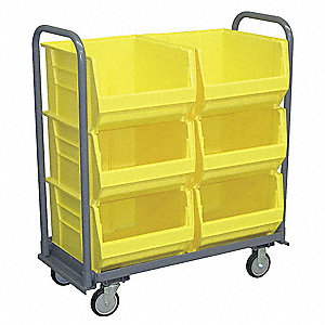 Mobile Bin Cart,1400 lb.,42 In.L