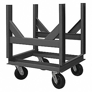 Bar Cradle Truck,4000 lb.,24 In.L