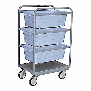 Gray Tub Rack, 1400 lb. Load Capacity