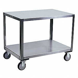 "Fixed Height Work Table, 30"" Depth, 30"" Height, 60"" Width,1200 lb. Load Capacity"