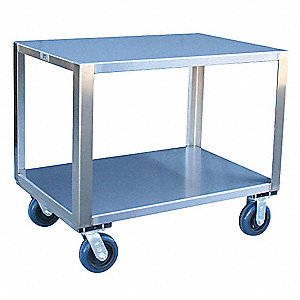 "Fixed Height Work Table, 24"" Depth, 31"" Height, 36"" Width,1800 lb. Load Capacity"