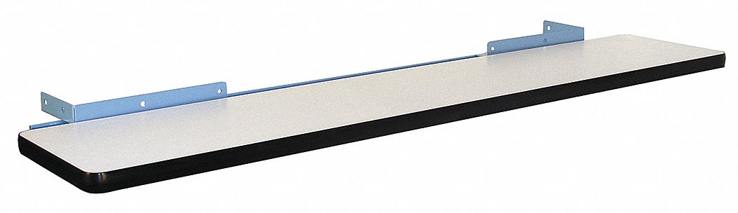 Cantilever Shelf,  ESD and Plastic, Steel,  2 in Height,  72 in Width,  12 in Depth