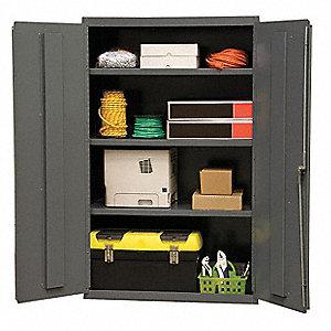 industrial storage cabinet gray 60 h x 36 w x 18 - Industrial Storage Cabinets