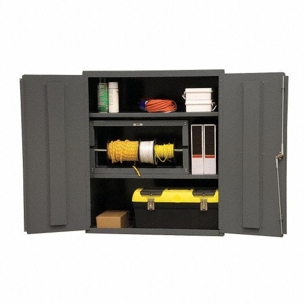 Durham Storage Cabinet Gray 42 Overall Height