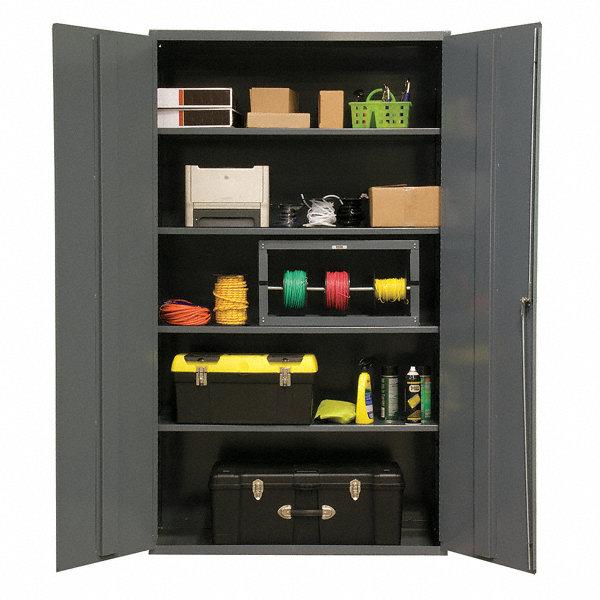 Durham Storage Cabinet Gray 72 Overall Height