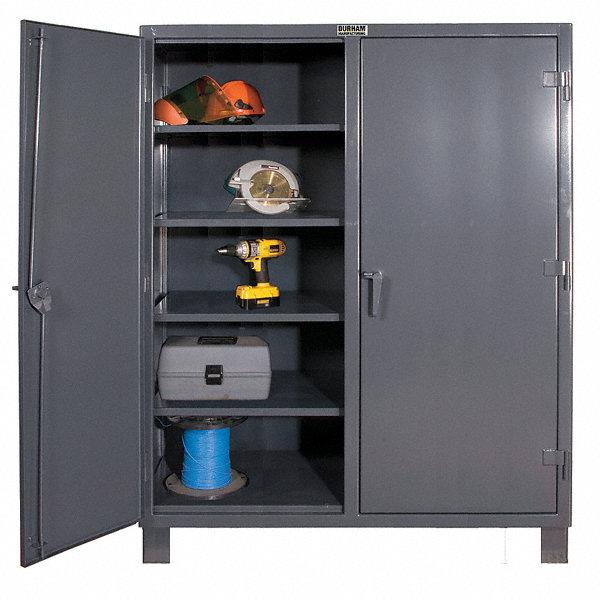 Durham Storage Cabinet Gray 78 Overall Height