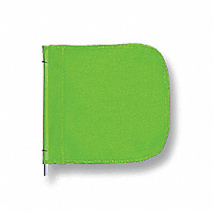 Replacement Flag,12x12 In,Green