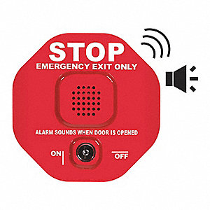 Exit Door Alarm,Annunciation,105dB