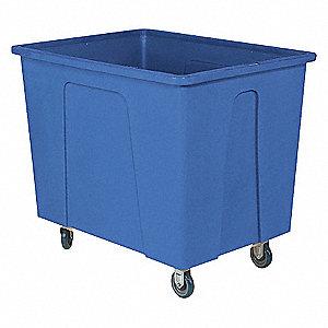 Box Truck,550 lb.,Blue,35x28x38 In.