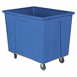 Box Truck,600 lb.,Blue,40x34x46 In.
