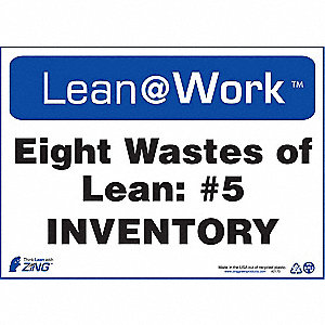 LEAN SIGN,EIGHT WASTES INVENTORY