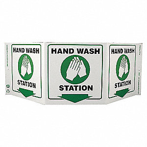 SAFETY SIGN,HAND WASH STATION