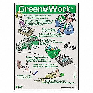 POSTER GREEN AT WORK UNIVRSL TOP 10