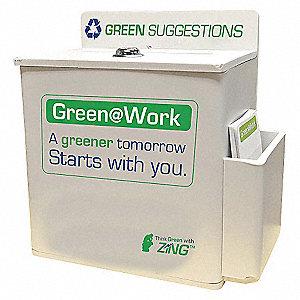 SUGGESTION BOX, GREEN IDEAS