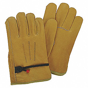 DRIVERS GLOVES,COWHIDE,XL,PALOMINO,