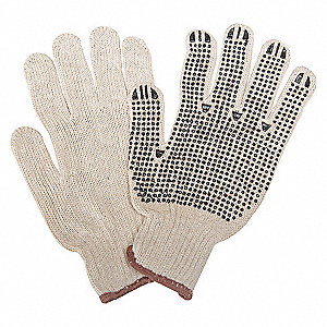 LIGHTWEIGHT GLOVE,POLY/COTTN,MENS,Size L