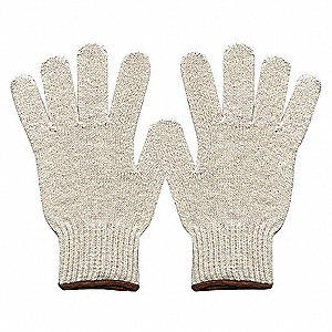 HEAVYWEIGHT KNIT GLOVE,POLY/COTTON,