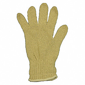 KNIT GLOVE,COTTON,MENS S,PR