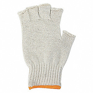 KNIT GLOVES,POLY/COTTON,XL,PR
