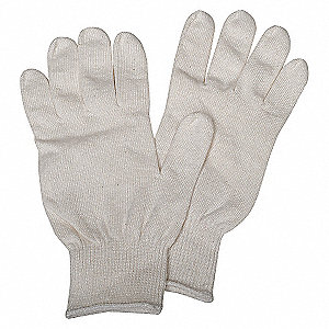 INSPCTN GLOVES,WHITE,CTN/POLY,UNIV.