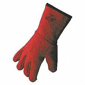 GLOVES HEAT RESIST RED XL TERRY CLO