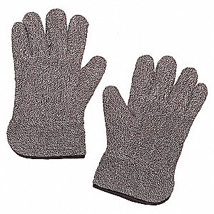 GLOVES HEAT RESISTANT BROWN/WHITE