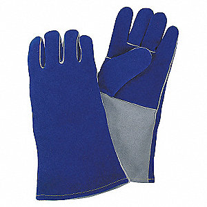 WELDING GLOVES,WELDING,14IN.,L,PR