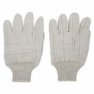 GLOVES CANVAS POLY/COTTON L NATURA