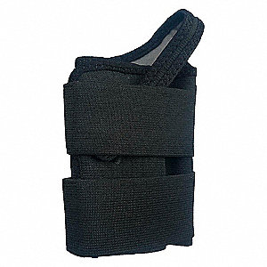 WRIST SUPPORT LEFT BLACK XL