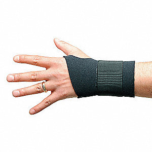 WRIST SUPPORT AMBIDEXTROUS BLACK XL